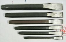 6 Proto Professional Chisels - NOS USA