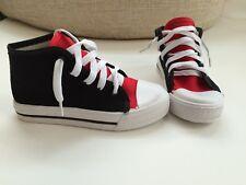 """Sneakers """"Sherry"""" Schwarz - Rot, Grösse 35"""