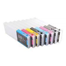Epson Stylus Pro 4000 Refilling Cartridge 8pcs / set, with 4 Funnels