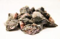 Rough Rhodonite 1 lb Lot Zentron™ Crystals