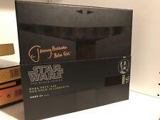 Star Wars Boba Fett + Han Solo Carbonit - Black Series Jeremy Bulloch Signature