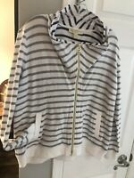 Ladies Michael Kors Zip Up Jacket Size XL Super Soft And Comfy Retails At $98.00
