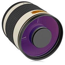 Opteka 500mm/1000mm Telephoto Mirror Lens for Nikon F-Mount DX FX DSLR Camera