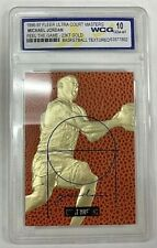1996-97 Michael Jordan 23KT Gold Fleer Ultra Court Masters WCG Gem Mint 10