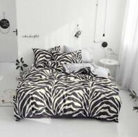 3D Black Abstract ZHUB3091 Bed Pillowcases Quilt Duvet Cover Queen King Zoe