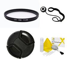UV Filter + Lens Cap Value Accessory Kit, 52mm 58mm 62mm 72mm for Nikon Canon