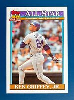 Ken Griffey Jr. #392 (1991 Topps) ALL STAR 40 Years of Baseball, Mariners, HOF