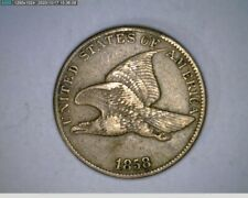 1858 Flying Eagle Cent penny ( 28-329 10m/o )