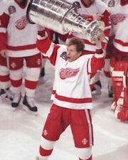 VLADIMIR KONSTANTINOV 8X10 PHOTO HOCKEY DETROIT RED WINGS NHL PICTURE WITH CUP