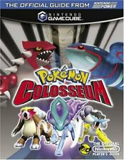More details for official nintendo pokemon colosseum player's guide by power, nintendo book the