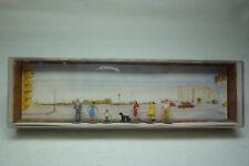 Vintage Mahale Figurines Box - N Gauge - strassenpassanten - Box 2180 (1.fig-46)
