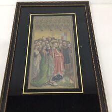 Framed Print Saint Ursula & Her Virgins Black Surround #454