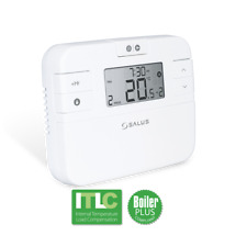 SALUS RT510+ PROGRAMMABLE ROOM THERMOSTAT REPLACES RT500 BOILER PLUS COMPLIANT