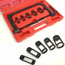 Solid C-Clamp 5 Sizes Valve Spring Compressor Pusher Tool Fit Car Motorcycle