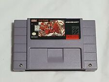 Secret of Evermore Super Nintendo Game AUTHENTIC SNES Squaresoft RPG Works Great