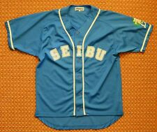 Seibu Lions, Japan, Vintage Baseball Jersey by Mizuno, Mens Large