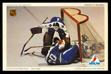 1971-72 NHLPA PRO STAR PROMOTIONS PHOTO JACQUES PLANTE MAHOVLICH Maple leafs EX+