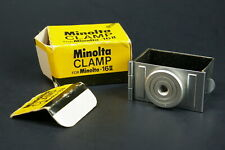 Minolta 16 Film Camera Flashgun & Tripod Mount Clamp