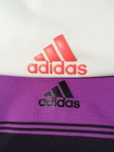 Lot 2 Adidas Puremotion & Ultimate 365 Rugby Polo Shirt Size Large 938007 CD3360