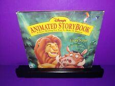 Disney Animated Storybook The Lion King CD ROM Windows B15