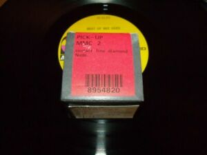 BANG & OLUFSEN MMC2 CARTRIDGE NEW IN BOX TESTED AND LOOKS NEW UNDER MICROSCOPE