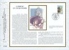 FEUILLET CEF / DOCUMENT PHILATELIQUE / LAMBESC LE JACQUEMARD 1993 LAMBESC