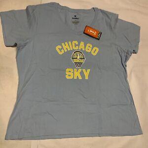 New Women's Original Fanatics WNBA Chicago Sky T-shirt Sz 3XL