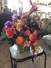 "24"" Jade Fruits and Flowers Basket (99-12)"