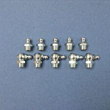 Grease Nipples 1/8BSP 5 Of Each 1/8BSP Straight & 1/8BSP X 90 Degrees
