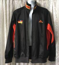 KAPPA Germany Bomber Jacket Large Black Red Lined