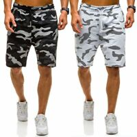 Fashion Men's Camo Short Pants Military Camouflage Summer Breathable Sports Pant