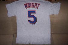 New York Mets  David Wright  GRAY T-Shirt Size: SMALL