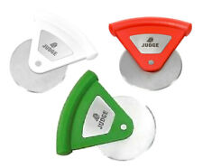 Judge Pizza Cutter Hand Held Rotella Pizza Slicer Handle Colour Will Vary TC300