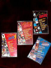 SOUNDTRACK - CINE DANCING - K7 audio  / TAPE - lot de 4
