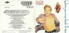 JASON DONOVAN CD-SINGLE WHEN YOU COME BACK TO ME ( 3inc