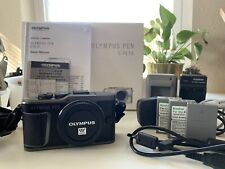 Olympus PEN E-PL10 16.1MP Mirrorless Camera - Black (Body Only)