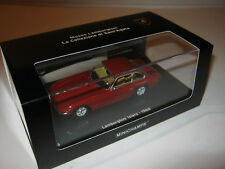 1:43 Lamborghini Islero 1968 red L.E. 1 of 2010 MINICHAMPS 436103420 OVP new