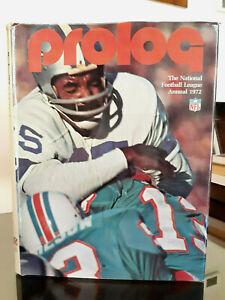 1972 ProLog: NFL National Football League Annual, Cowboys Dolphins Csonka, RARE