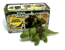 1978 Vintage Star Wars Patrol Dewback Complete Boxed Saddle Tatoonie FREESHIP