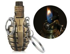 M26 Grenade Design Cigarette Lighter with Key Chain + Tracking