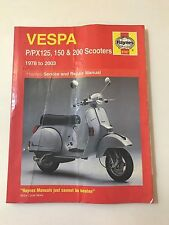 HAYNES P/PX125, 150 & 200 Scooters 1978 to 2003 Service and Repair Manual