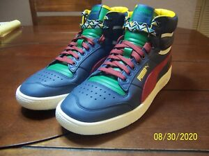 NEW Puma Ralph Sampson Mid Black History size 10.5