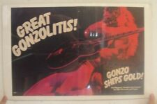 Ted Nugent Poster Trade Ad Double Live Gonzo Great Gonzolitis Ships Gold