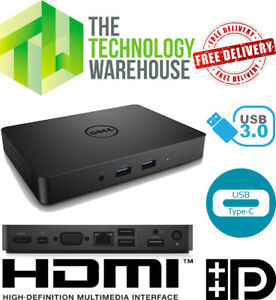 Dell WD15 Docking Station with USB-C  Cable HDMI + Dual FHD + 4K Display K17A001