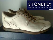 "STONEFLY   ""BELLISSIMA SNEAKERS SCARPA UOMO COL. BIANCO IN PELLE  N° 40  NUOVO"""