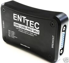 Enttec DMX USB MK2 PRO PC Interface mkII new DUP