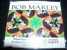 Bob Marley What Goes Around Comes Around Rare Alex Party Remixes CD Single