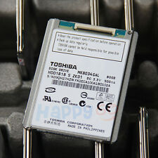 1.8 Toshiba Hard Drive ZIF MK8034GAL 5MM For IPOD CLASSIC 7th Replace MK1634GAL