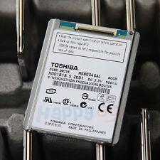 80GB TOSHIBA ZIF MK8034GAL HARD DRIVE FOR SONY DV Camera HDR-XR68E HDR-XR150E