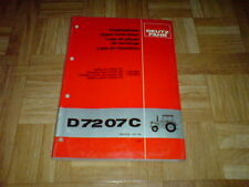 Original Ersatzteilliste Deutz-Fahr D 7207 C